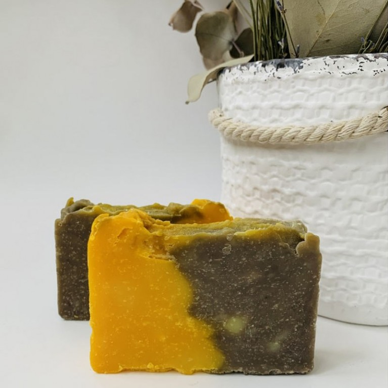 Натуральне мило «Кориця з солодким апельсином»